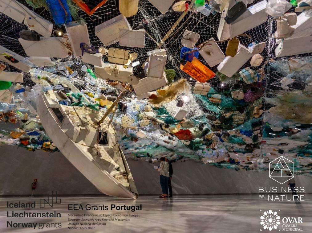 O projeto #fishingtheplastic da BUSINESS as NATURE é um dos projetos vencedores do programa EEAGrants