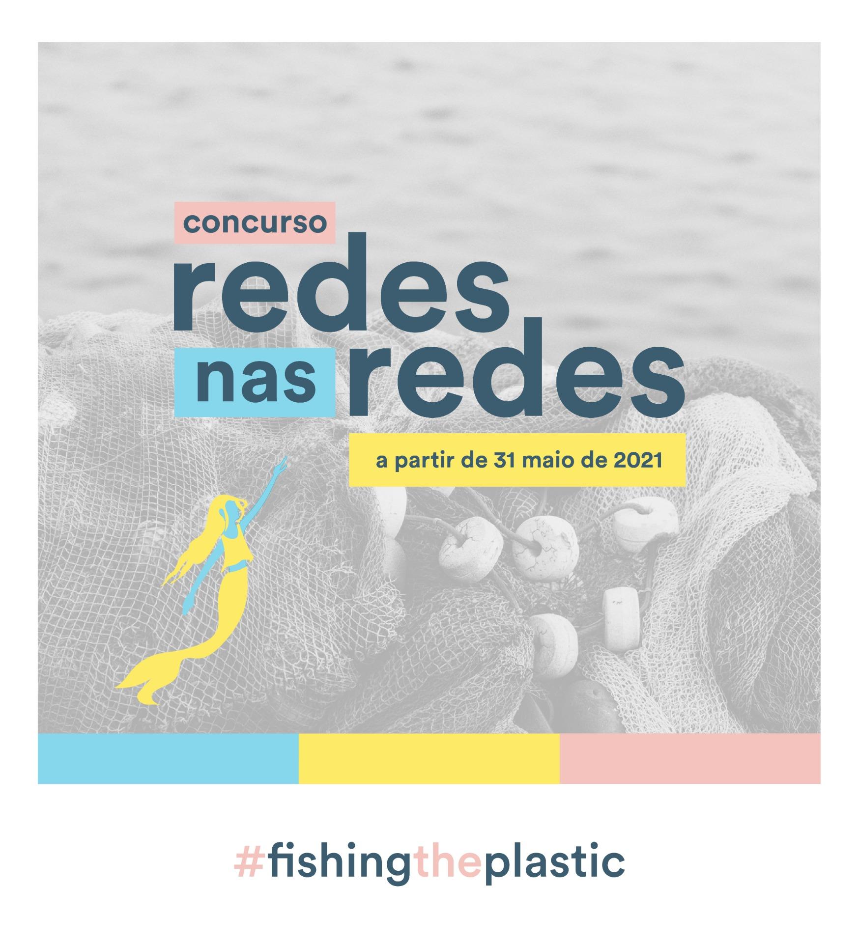 Concurso Redes nas Redes do projeto #fishingtheplastic abre inscrições!